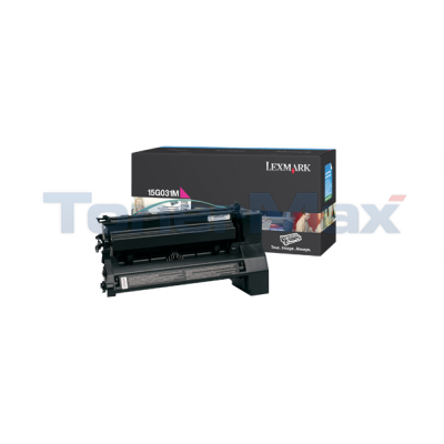 LEXMARK C752 PRINT CART MAGENTA 6K